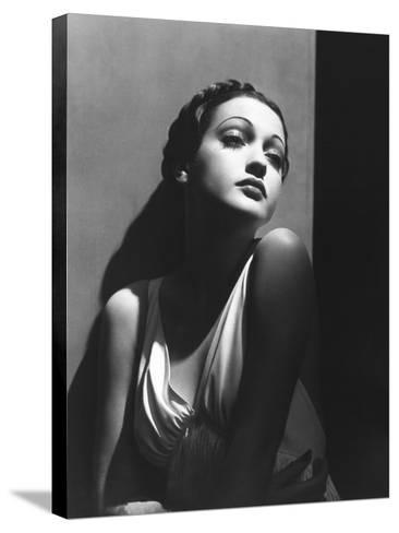 Dorothy Lamour, 1937--Stretched Canvas Print