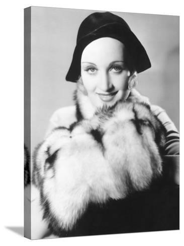 Carole Lombard--Stretched Canvas Print