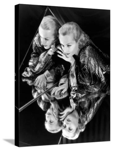 Carole Lombard, 1935--Stretched Canvas Print