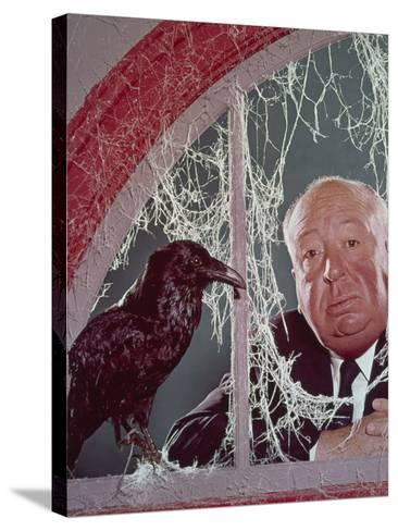 Alfred Hitchcock, The Birds, 1963--Stretched Canvas Print