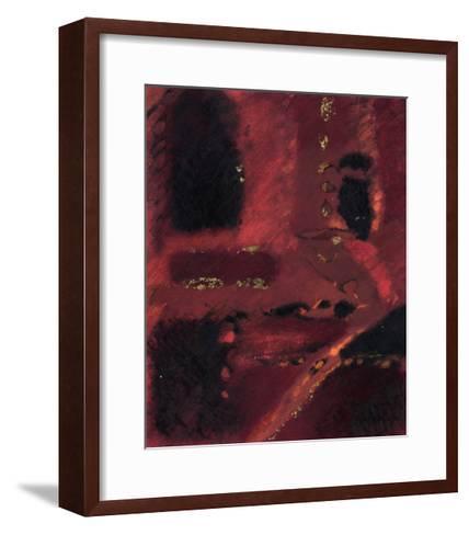 Red Mirage I--Framed Art Print