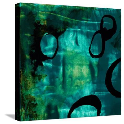 Turquoise Element I-Sisa Jasper-Stretched Canvas Print