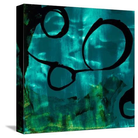 Turquoise Element II-Sisa Jasper-Stretched Canvas Print