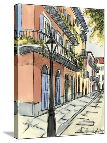 Sketches of Downtown I-Ethan Harper-Stretched Canvas Print