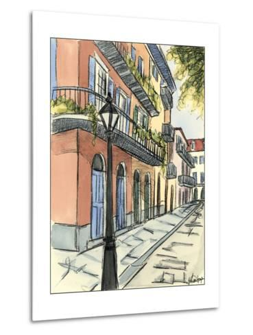 Sketches of Downtown I-Ethan Harper-Metal Print