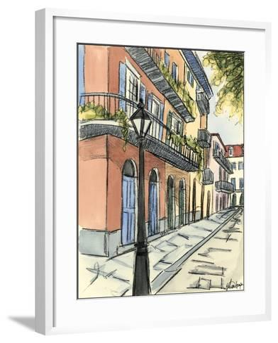Sketches of Downtown I-Ethan Harper-Framed Art Print