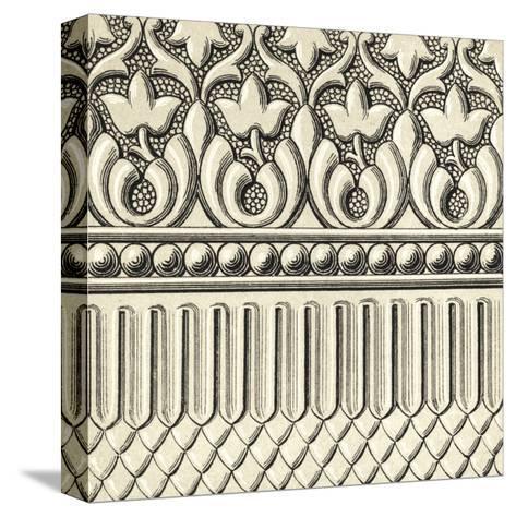 Ornamental Tile Motif V-Vision Studio-Stretched Canvas Print