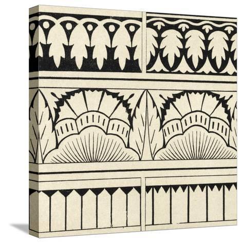Ornamental Tile Motif VII-Vision Studio-Stretched Canvas Print