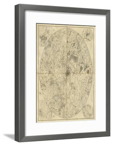 Environs of Paris-Vision Studio-Framed Art Print
