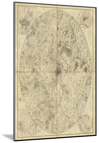 Environs of Paris-Vision Studio-Mounted Art Print