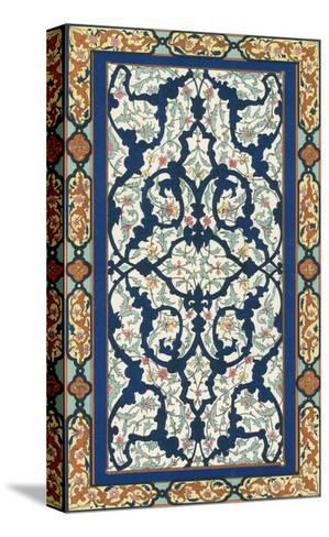 Non-Embellish Persian Ornament III-Vision Studio-Stretched Canvas Print
