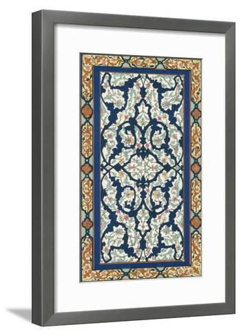 Non-Embellish Persian Ornament III-Vision Studio-Framed Art Print
