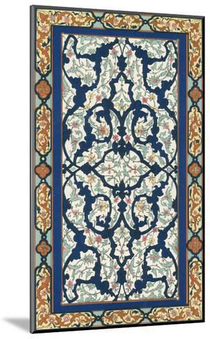 Non-Embellish Persian Ornament III-Vision Studio-Mounted Art Print