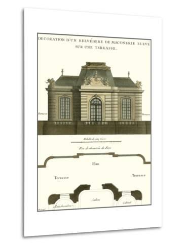 Belvedere Palace I--Metal Print