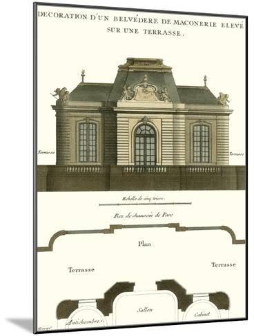 Belvedere Palace I--Mounted Art Print