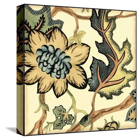 Small Jacobean Tile III-Chariklia Zarris-Stretched Canvas Print
