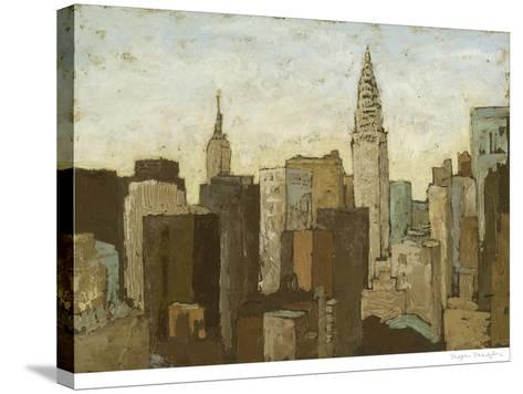 City and Sky II-Megan Meagher-Stretched Canvas Print