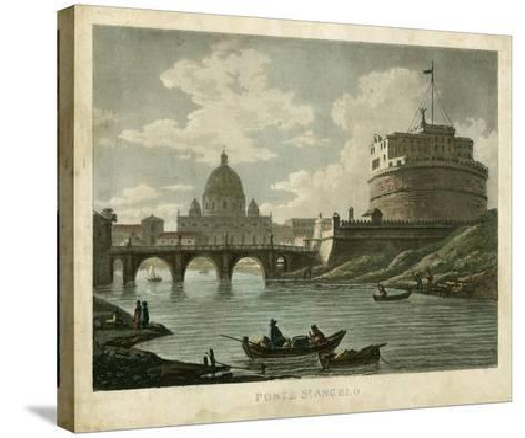 Ponte St. Angelo-Merigot-Stretched Canvas Print