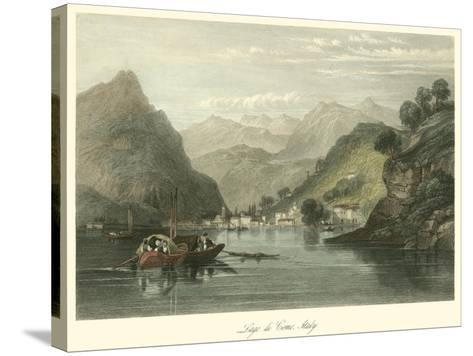 Lago Di Como, Italy-W.L. Leitch-Stretched Canvas Print