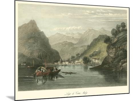 Lago Di Como, Italy-W.L. Leitch-Mounted Art Print
