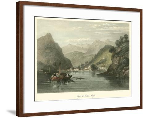 Lago Di Como, Italy-W.L. Leitch-Framed Art Print