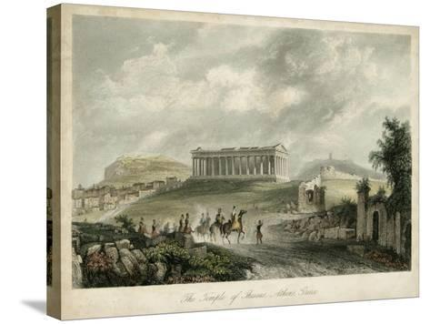 Temple of Theseus- Athens, Greece-Wolfensberger-Stretched Canvas Print