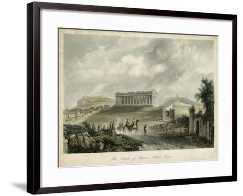 Temple of Theseus- Athens, Greece-Wolfensberger-Framed Art Print