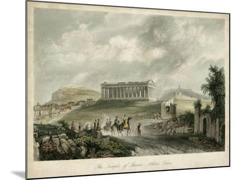 Temple of Theseus- Athens, Greece-Wolfensberger-Mounted Art Print