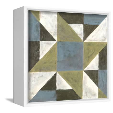 Patchwork Tile I-Vanna Lam-Framed Canvas Print