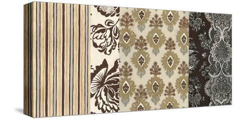 Neutral Nouveau Panel II--Stretched Canvas Print