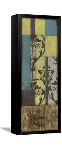 Jeweled Transom V-Jennifer Goldberger-Framed Canvas Print