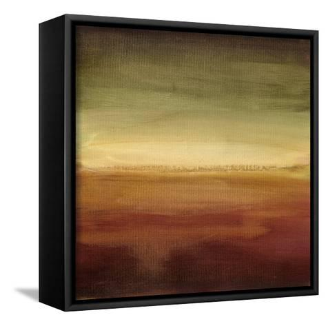 Abstract Horizon II-Ethan Harper-Framed Canvas Print