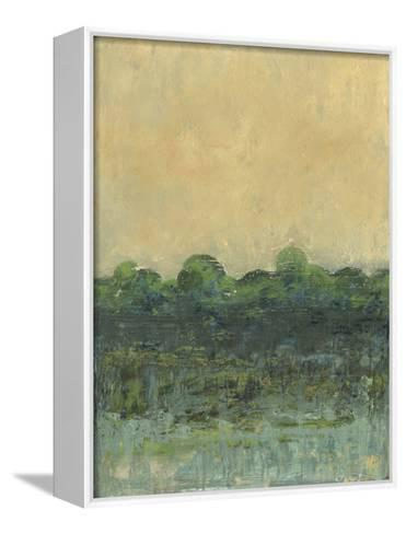 Viridian Marsh II-J^ Holland-Framed Canvas Print
