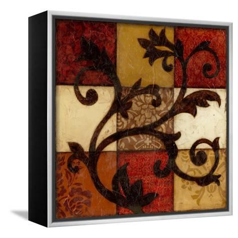 Spiced Filigree-Jennifer Goldberger-Framed Canvas Print