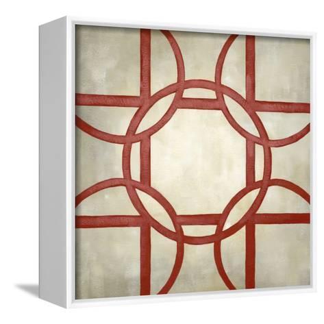 Classical Symmetry II-Chariklia Zarris-Framed Canvas Print