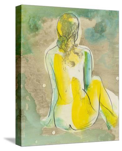 Figure in Relief I-Jennifer Goldberger-Stretched Canvas Print