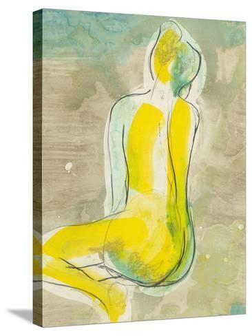 Figure in Relief II-Jennifer Goldberger-Stretched Canvas Print