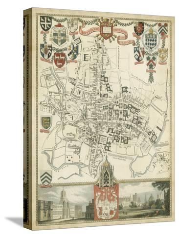 City and University of Oxford--Stretched Canvas Print