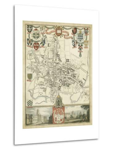 City and University of Oxford--Metal Print