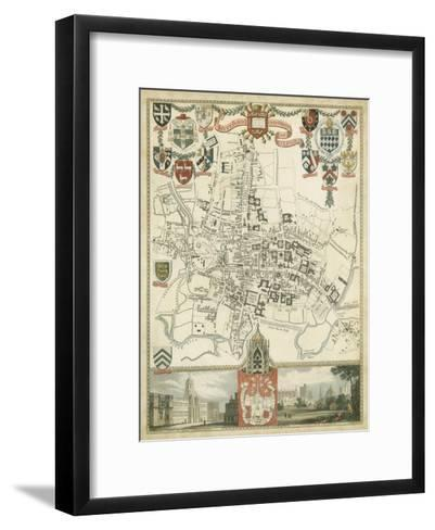 City and University of Oxford--Framed Art Print