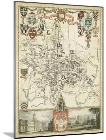 City and University of Oxford--Mounted Art Print