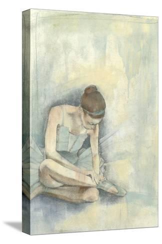 Ballerina Repose I-Jennifer Goldberger-Stretched Canvas Print