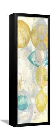 Romance III-Jennifer Goldberger-Framed Canvas Print
