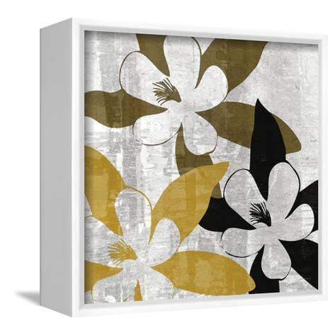 Bloomer Squares III-James Burghardt-Framed Canvas Print