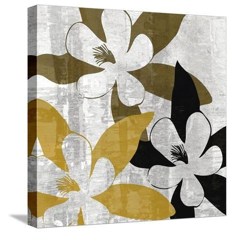 Bloomer Squares III-James Burghardt-Stretched Canvas Print