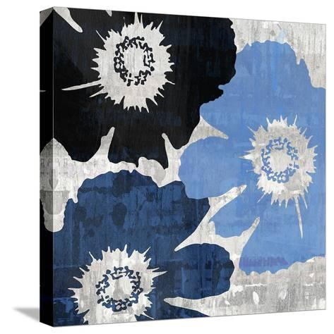 Bloomer Squares XIII-James Burghardt-Stretched Canvas Print