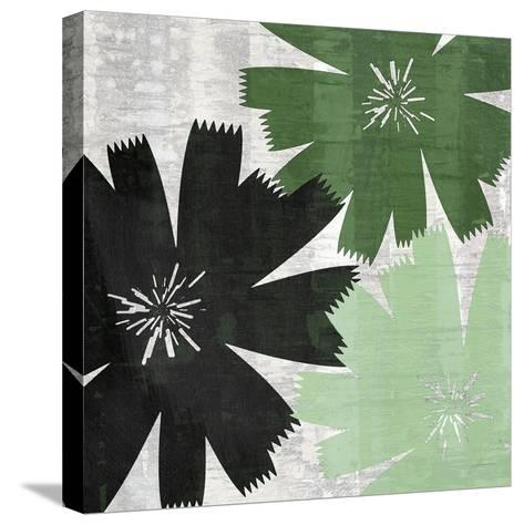 Bloomer Squares XVII-James Burghardt-Stretched Canvas Print
