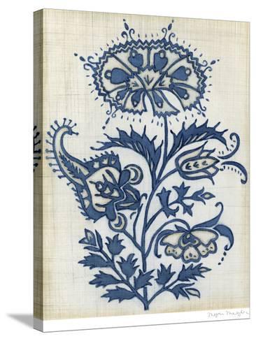 Eastern Indigo II-Megan Meagher-Stretched Canvas Print