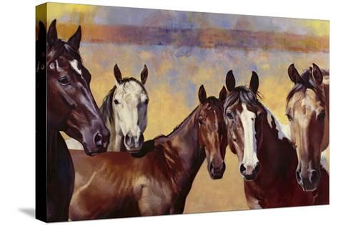 The Boys-Julie Chapman-Stretched Canvas Print