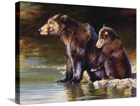 Mother Love-Julie Chapman-Stretched Canvas Print
